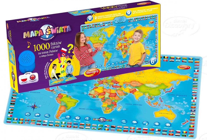 Mapa Świata – zabawa i edukacja w jednym